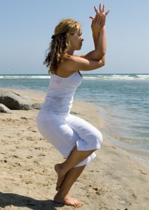 garudasana  eagle pose  how to  ibiza retreats