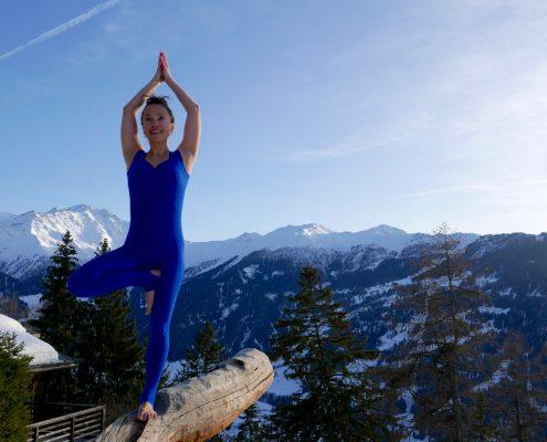 alpine yoga
