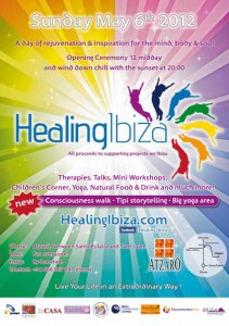 Healing Ibiza May 6 2012 at Atzaro